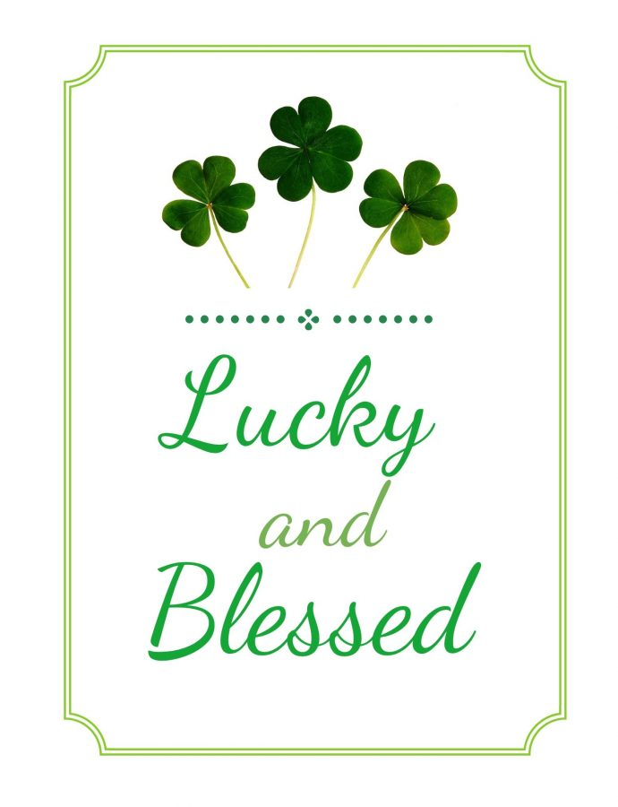 St. Patricks Day Free Printable Wall Art