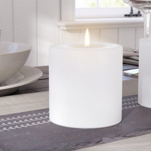 Simple Accessories to Create a Home Spa Unscented Pillar Candle #Spa #bathroom #HomeSpa #PamperYourself #SpaAccessories #MeTime #BathSpa #DIYHomeSpa #Relax #Soothing