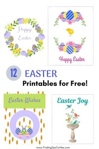 12 Easter Printables for Free #Easter #EasterPrintables #Printables #EasterWallArt #DIY #WallArt #DIYDecor