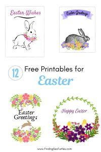 12 Free Printables for Easter #Easter #EasterPrintables #Printables #EasterWallArt #DIY #WallArt #DIYDecor
