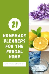 21 Homemade Cleaners for the Frugal Home #CleanHome #HomemadeCleaners #HouseCleaning #HouseKeeping #DIYCleaning #CleanwithVinegar #SaveMoney #SaveTime #BudgetFriendly #NonToxic
