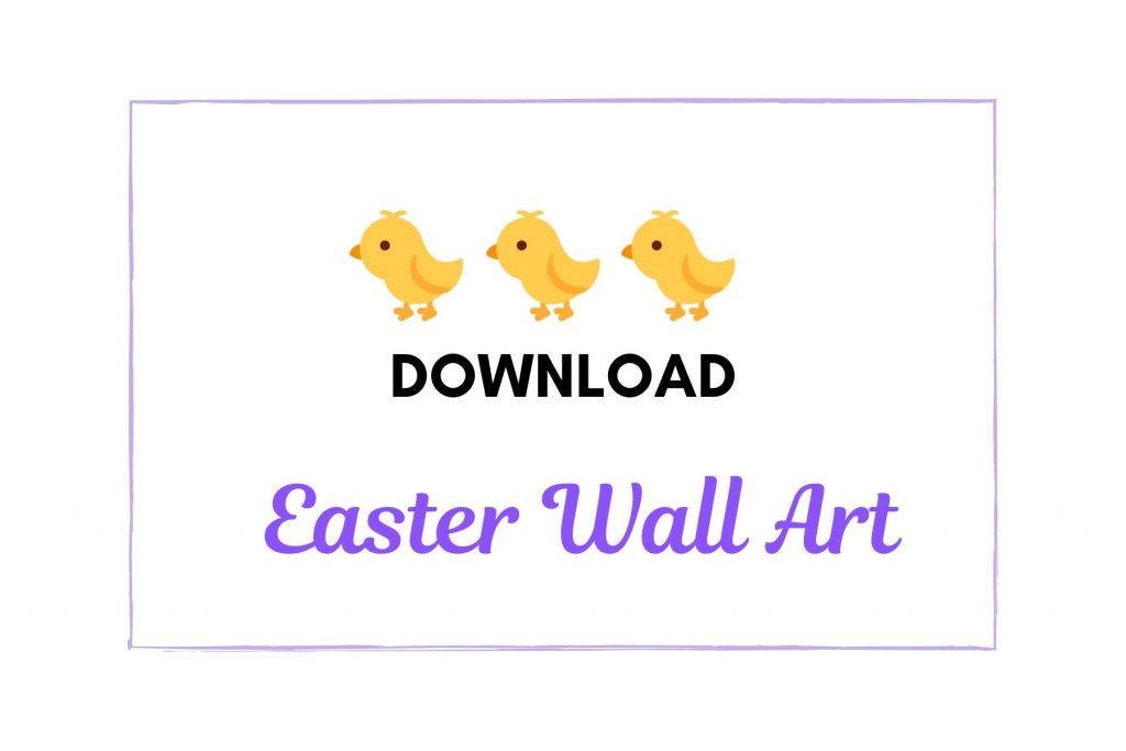 Download Easter 2020 Wall Art