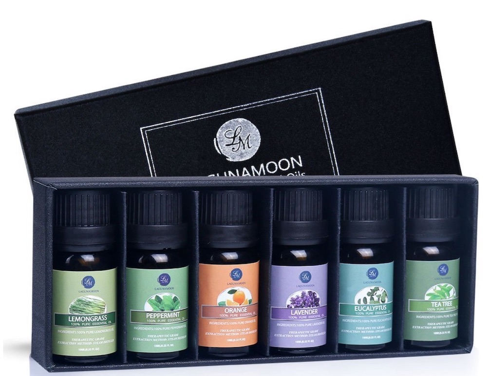 Essential Oil Set #CleanHome #HomemadeCleaners #HouseCleaning #HouseKeeping #DIYCleaning #CleanwithVinegar #SaveMoney #SaveTime #BudgetFriendly #NonToxic