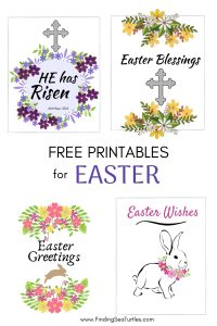 FREE PRINTABLES for Easter #Easter #EasterPrintables #Printables #EasterWallArt #DIY #WallArt #DIYDecor