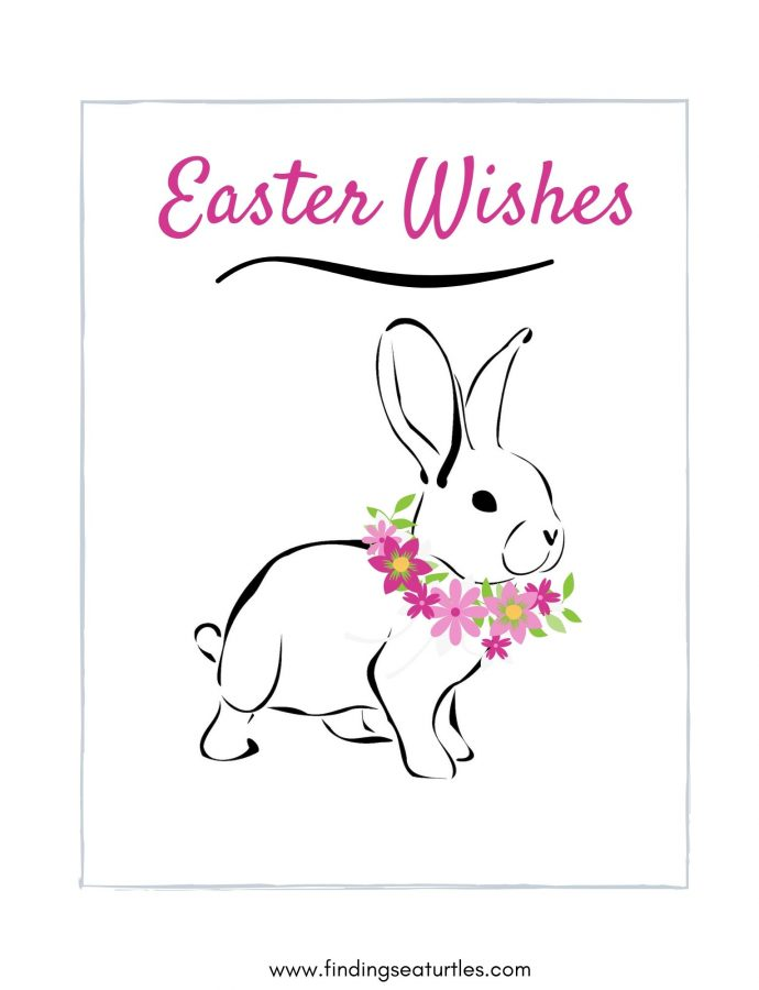 Easter Free Printable Wall Art