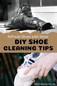 Refresh Shoes with these DIY SHOE CLEANING TIPS #ShoeCleaning #CleanShoes #Cleaning #OdorFreeShoes #DIY #SaveMoney #NonToxic #SimpleCleaning