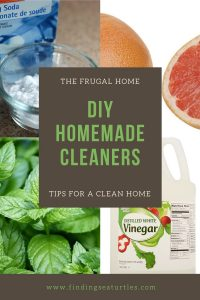 The Frugal home DIY Homemade Cleaners Tips for Clean Home #CleanHome #HomemadeCleaners #HouseCleaning #HouseKeeping #DIYCleaning #CleanwithVinegar #SaveMoney #SaveTime #BudgetFriendly #NonToxic