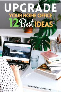 12 Best Ideas for Upgrading your Home Office #homeoffice #homedecor #workfromhome #productivity #worksmarter
