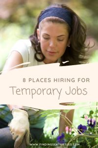 8 Places Hiring for Temporary Jobs #MakeMoney #TemporaryWork #SeasonalWork #JobOpportunities #PartTimeWork