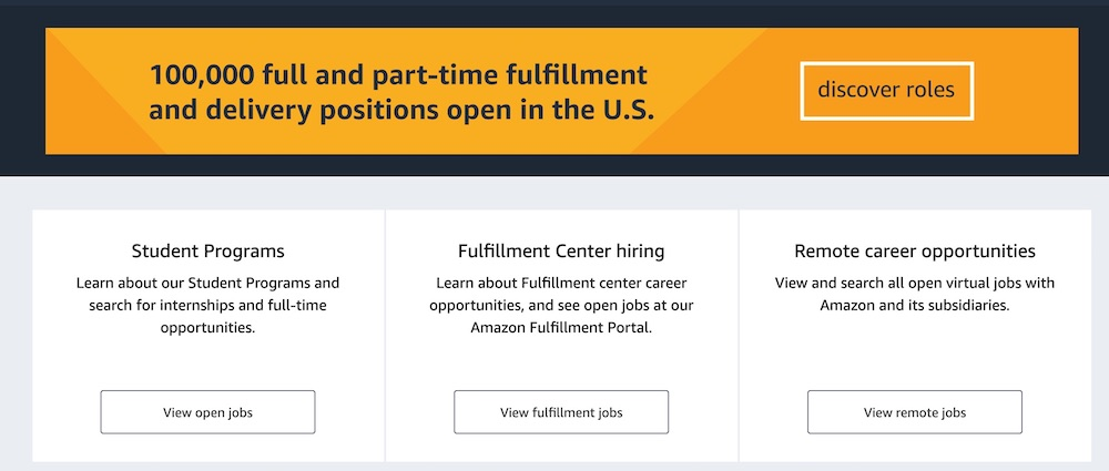 Temporary Jobs this Spring Amazon Full and Part Time Positions #MakeMoney #TemporaryWork #SeasonalWork #JobOpportunities #PartTimeWork