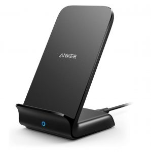 12 Best Home Office Upgrades - Anker Wireless Charger, PowerWave Stand #HomeOffice #HomeOfficeDecor #WorkAtHome #WorkFromHome #HomeOfficeTools #HomeOfficeUpgrades #GirlBoss #GirlBossDecor #WorkAtHomeMom