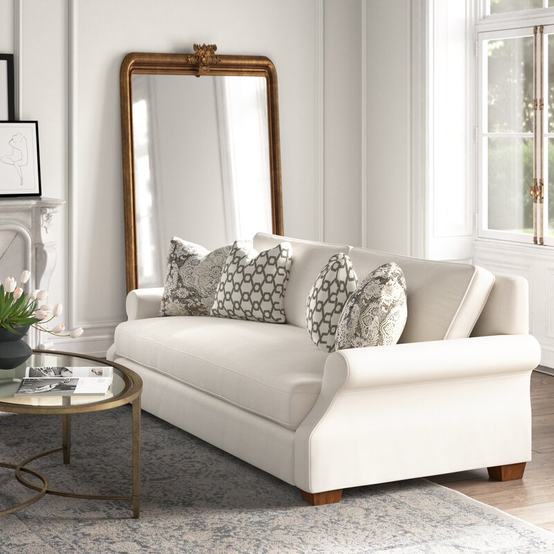 12 Charming French Country Sofas Bellevue Rolled Arm Sofa #FrenchCountry #FrenchCountryDecor #Decor #CountryStyleDecor #FrenchCountrySofas #FrenchDecor #Sofas