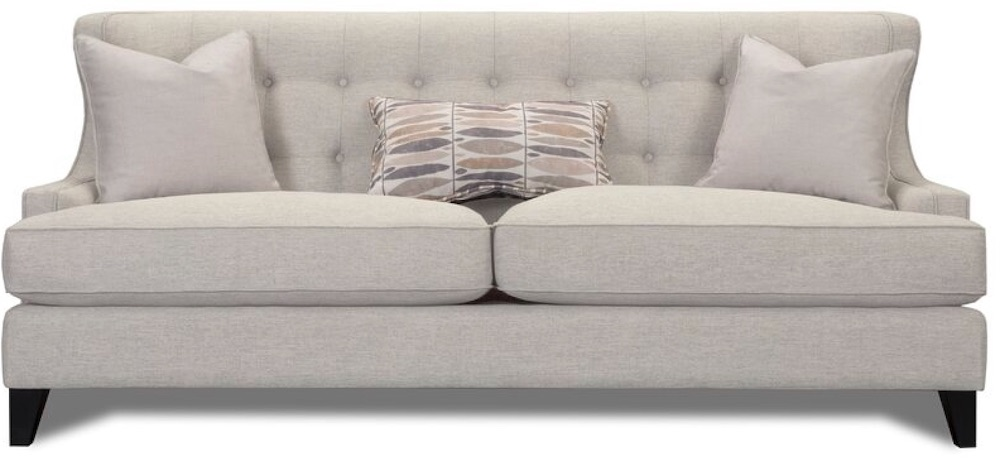 Carson Recessed Arm Sofa #Farmhouse #FarmhouseDecor #Decor #CountryDecor #FarmhouseSofas #Sofas #AffordableFarmhouse #CountryStyle #VintageDecor