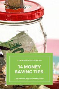 Cut Household Expenses 14 Money Saving Tips #Frugal #FrugalLiving #FrugalLife #SaveMoney #MoneySaving #Saver #MoneySavingTips #Thrifty #FamilyBudget #LiveFrugally #DIY