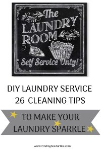 DIY Laundry Service 26 Cleaning Tips to make your Laundry Sparkle #Laundry #WashingClothes #CleanClothes #Vinegar #CleaningwithVinegar #SaveMoney #SaveTime #FrugalLiving #FrugalHome