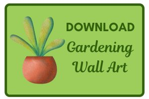 Download Gardening Wall Art