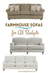 Farmhouse Sofas for All Budgets #Farmhouse #FarmhouseDecor #Decor #CountryDecor #FarmhouseSofas #Sofas #AffordableFarmhouse #CountryStyle #VintageDecor