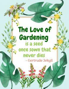 Gardening 2020 p5 #Gardening #GardenQuotes #GardeningPrintables #Printables #GardeningWallArt #DIY #WallArt #DIYDecor