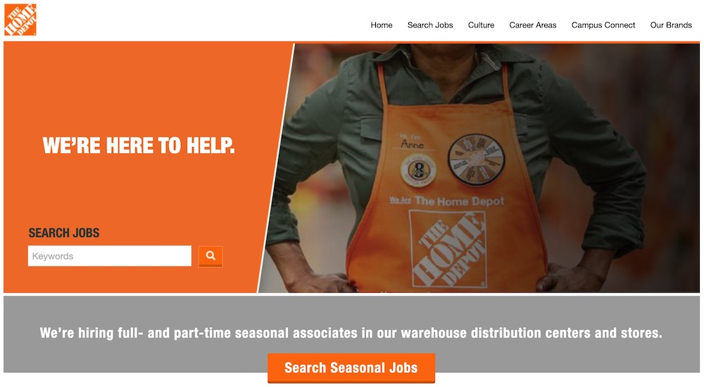 Temporary Jobs this Spring Home Depot Seasonal Job Search