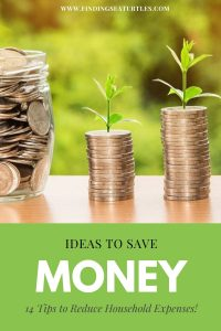 Ideas to Save Money 14 tips to reduce Household Expenses #Frugal #FrugalLiving #FrugalLife #SaveMoney #MoneySaving #Saver #MoneySavingTips #Thrifty #FamilyBudget #LiveFrugally #DIY