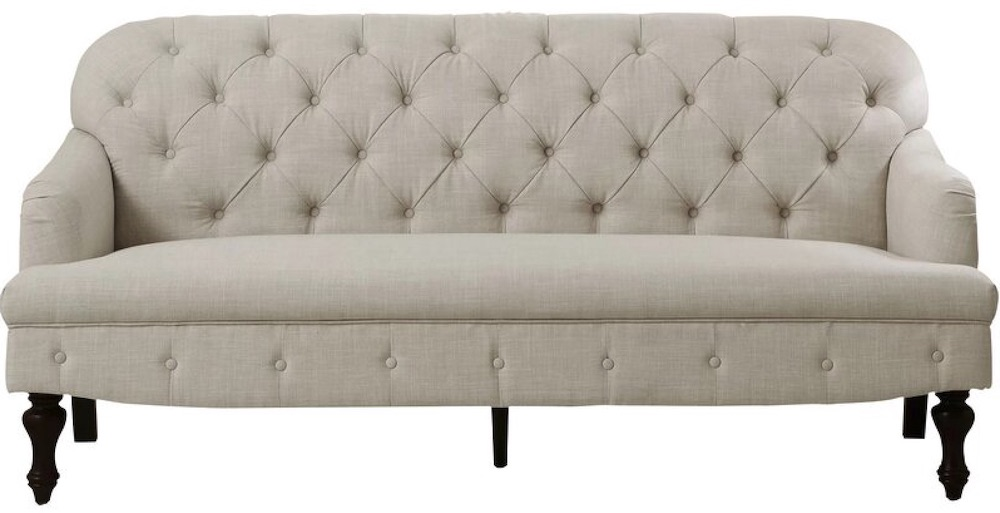 Janay Recessed Arm Sofa #FrenchCountry #FrenchCountryDecor #Decor #CountryStyleDecor #FrenchCountrySofas #FrenchDecor #Sofas