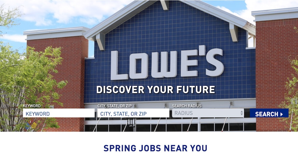 Lowe's Home Improvement #MakeMoney #TemporaryWork #SeasonalWork #JobOpportunities #PartTimeWork