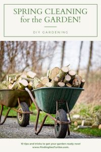 SPRING CLEANING for the GARDEN! DIY Gardening #SpringGarden #Gardening #SpringCleaning #SprngGardenCleaning #SpringChores #BenefitsofGardening #GardenWorkOut