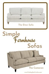 Simple Farmhouse Sofas #Farmhouse #FarmhouseDecor #Decor #CountryDecor #FarmhouseSofas #Sofas #AffordableFarmhouse #CountryStyle #VintageDecor