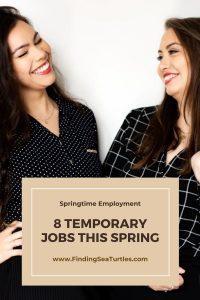 Springtime Employment 8 Temporary Jobs this Spring #MakeMoney #TemporaryWork #SeasonalWork #JobOpportunities #PartTimeWork