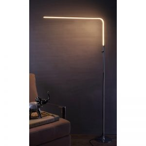 """12 Best Home Office Upgrades - Uffington 63"""" LED Arched Floor Lamp #HomeOffice #HomeOfficeDecor #WorkAtHome #WorkFromHome #HomeOfficeTools #HomeOfficeUpgrades #GirlBoss #GirlBossDecor #WorkAtHomeMom"""