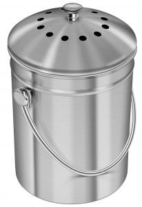 How to Get Rid of Fruit Flies Utopia Kitchen Stainless Steel Compost Bin #Laundry #WashingClothes #CleanClothes #Vinegar #CleaningwithVinegar #SaveMoney #SaveTime #FrugalLiving #FrugalHome