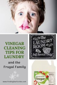 Vinegar Cleaning Tips for Laundry and the Frugal Family #Laundry #WashingClothes #CleanClothes #Vinegar #CleaningwithVinegar #SaveMoney #SaveTime #FrugalLiving #FrugalHome