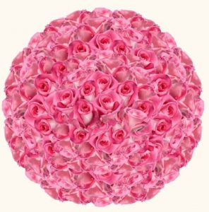 Medium Pink Box by A800Roses #flowers #flowerdelivery #bouquets #OnlineFlowers #FlowersOnline #MothersDay #FlowersForMom #GiveMomFlowers