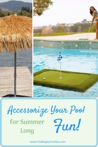 Accessorize Your Pool for Summer Long Fun #Pool #SummerPool #PoolFun #PoolDecor #PoolAccessories #SummerFun #Relax #DailySwim #PoolParty