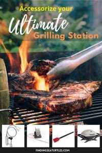 Accessorize your Ultimate Grilling Station #grilling #BBQ #outdoorliving