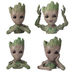 DIY Patio Refresh Baby Groot Succulent Planter set #DIY #Patio #DIYPatio #DIYPatioRefresh #Decor #PatioDecor #OutdoorDecor