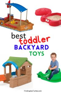 Best Backyard Toddler Toys #backyard #toddler #toys #outdoorplay