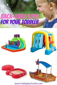 Best Toddler Toys for the Yard #backyard #toddler #toys #outdoorplay