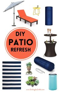 DIY PATIO REFRESH #DIY #Patio #DIYPatio #DIYPatioRefresh #Decor #PatioDecor #OutdoorDecor