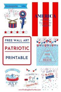 FREE WALL ART Patriotic Printable #Patriotic #PatrioticQuotes #PatrioticPrintables #Printables #FreePrintables #PatrioticWallArt #DIY #WallArt #DIYDecor