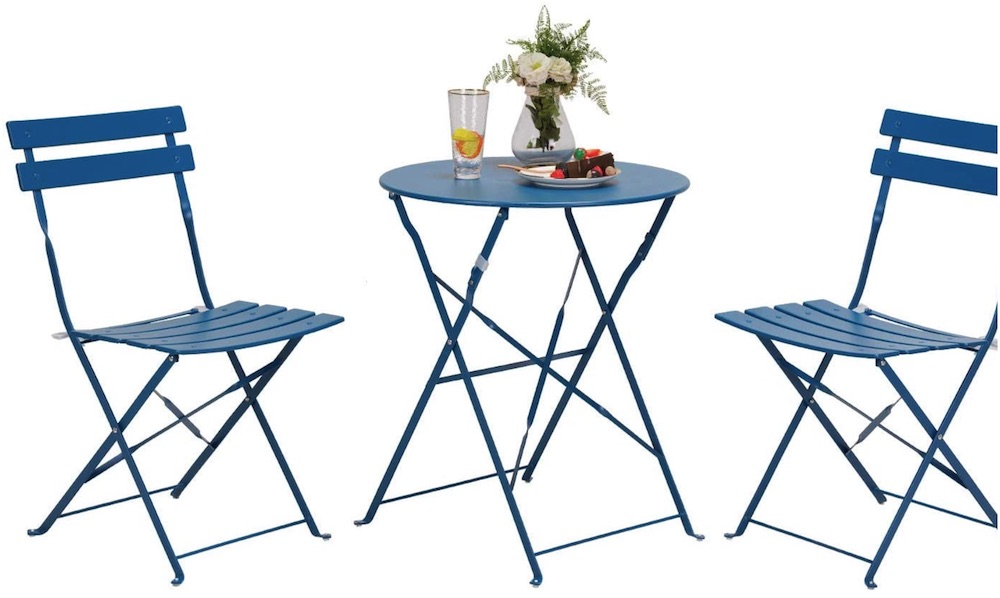 DIY Patio Refresh Grand patio Premium Steel Patio Bistro Set #DIY #Patio #DIYPatio #DIYPatioRefresh #Decor #PatioDecor #OutdoorDecor