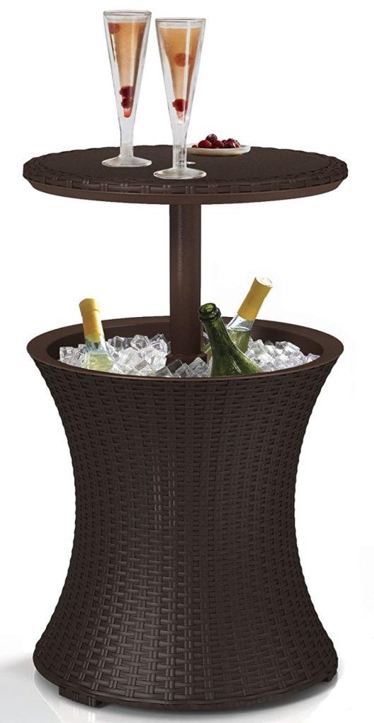 DIY Evening Patio Refresh Keter Pacific Cool Bar Outdoor Patio Furniture #DIY #Patio #DIYPatio #DIYPatioRefresh #Decor #PatioDecor #OutdoorDecor