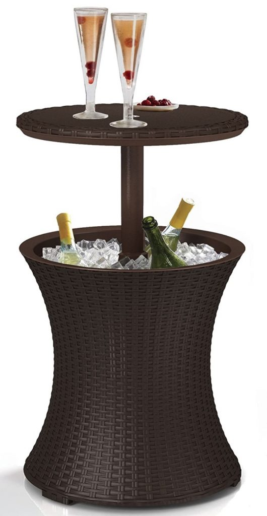 Cool Bar Patio Cooler #DIY #Patio #DIYPatio #DIYPatioRefresh #Decor #PatioDecor #OutdoorDecor