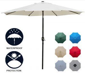 Patio Umbrella #DIY #Patio #DIYPatio #DIYPatioRefresh #Decor #PatioDecor #OutdoorDecor