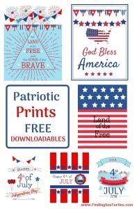 Patriotic Prints Free Downloadables #Patriotic #PatrioticQuotes #PatrioticPrintables #Printables #FreePrintables #PatrioticWallArt #DIY #WallArt #DIYDecor