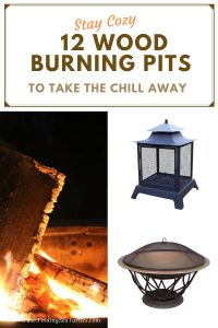 Stay Cozy 12 Wood Burning Pits to take the Chill Away #FirePit #OutdoorLiving #Patio #OutdoorSpaces #StayCozy #CozyNightswithFirePits #StayCozy