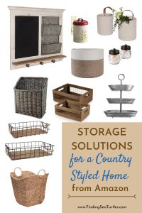 Storage Solutions for a Country Home #Farmhouse #Storage #Organization #FarmhouseStorage #CountryStyleStorage #CountryDecor #FarmhouseOrganization #CountryStyle #VintageStyle