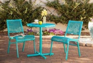 Bixby Bistro Set #OutDoorFurniture #Patio #OutDoorLiving #OutDoorSpaces #PatioDining #Deck #Balcony