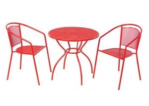 Cherry Bistro Set #OutDoorFurniture #Patio #OutDoorLiving #OutDoorSpaces #PatioDining #Deck #Balcony