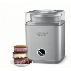 Cuisinart Pure Indulgence Ice Cream Maker #IceCream #Dessert #DIY #HomeMade #HomeMadeIceCream #SummerDesserts #SummerPicnics #SummerFun